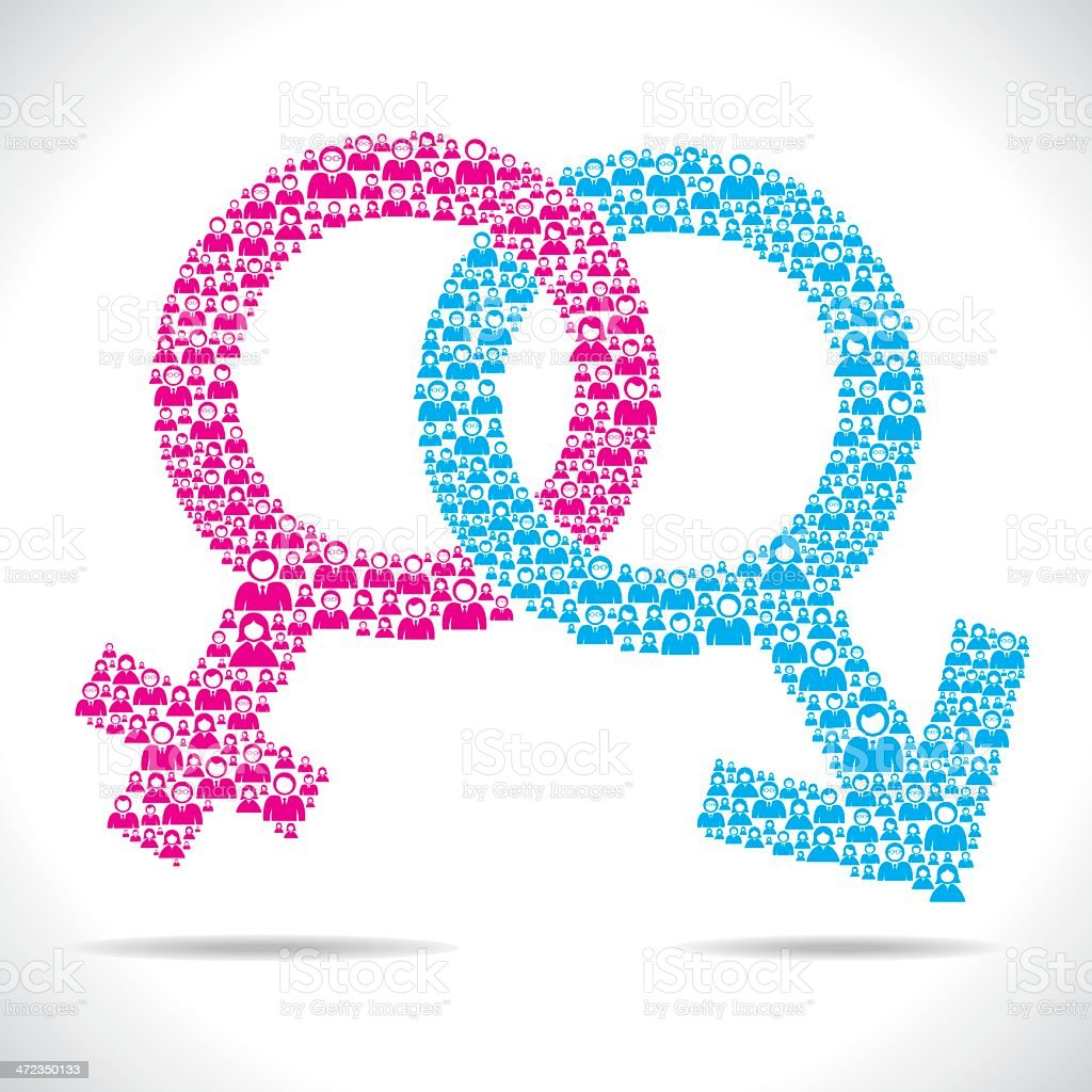 male female symbol royalty-free male female symbol stock vector art & more images of abstract