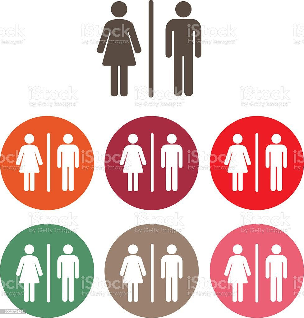 Male Female Symbol Stock Vector Art More Images Of 2015 502673424
