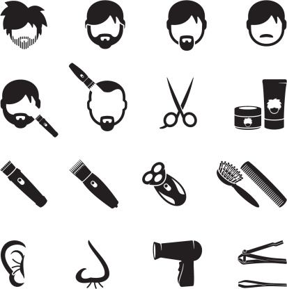 Male Grooming Icons
