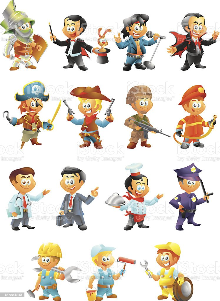 male set royalty-free male set stock vector art & more images of adult