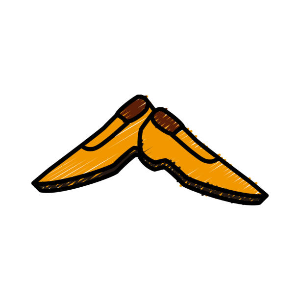 male shoes footwear - square foot garden stock illustrations, clip art, cartoons, & icons