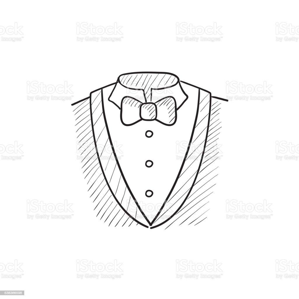 Homme dessin ic ne de costume vecteurs libres de droits - Dessin costume ...