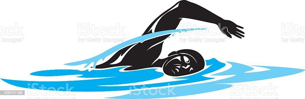 royalty free swimmer clip art vector images illustrations istock rh istockphoto com swimmer clip art free swimming clip art free