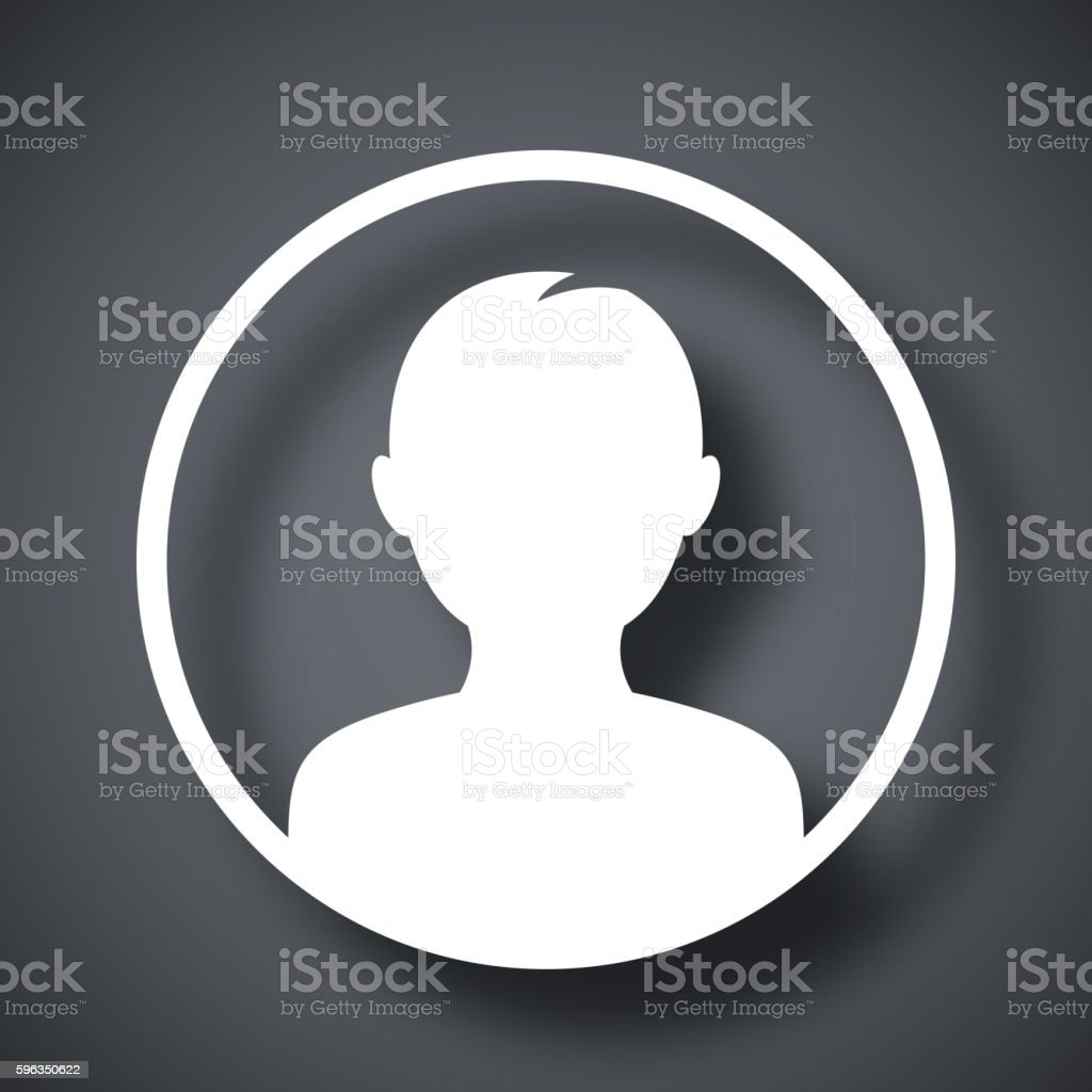 Male user icon, vector illustration royalty-free male user icon vector illustration stock vector art & more images of adult