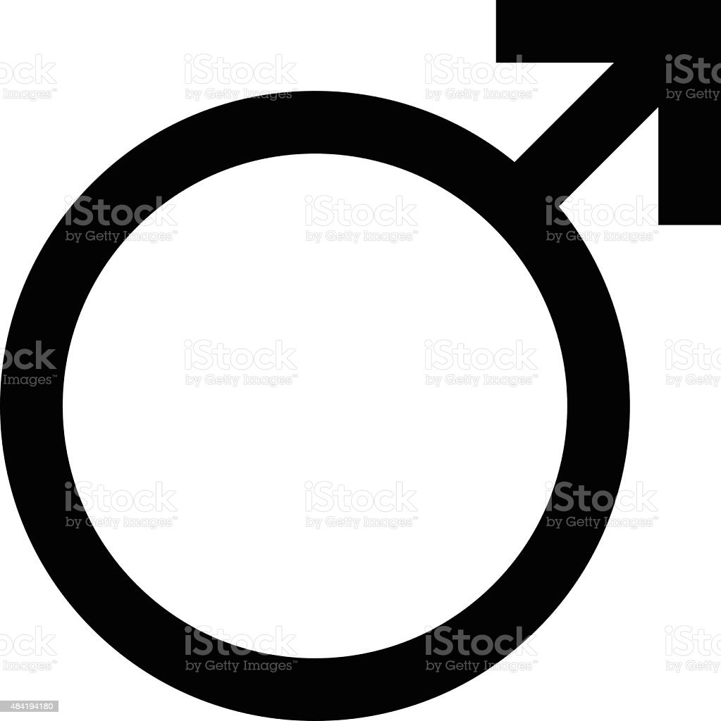 male symbol clip art, vector images & illustrations - istock