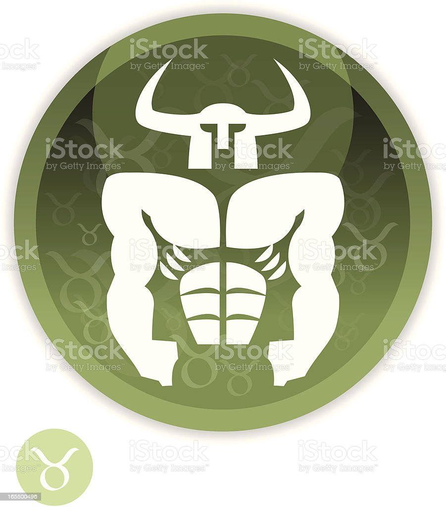 Male Zodiac - Taurus royalty-free male zodiac taurus stock vector art & more images of adult