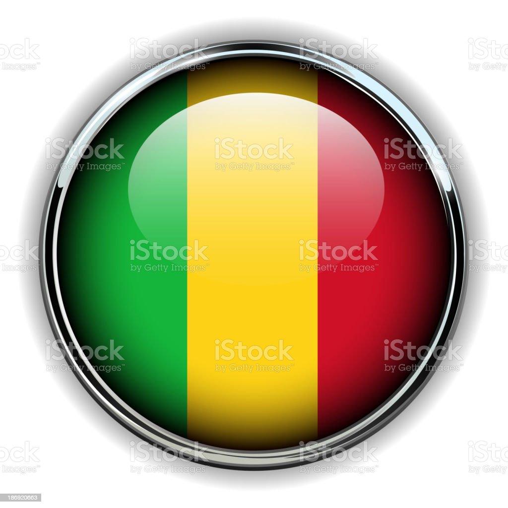 Mali button royalty-free stock vector art