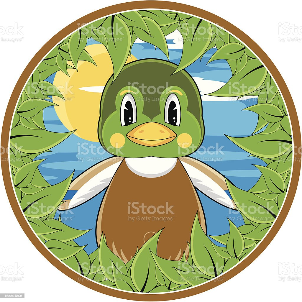 Mallard Duck Character Graphic royalty-free mallard duck character graphic stock vector art & more images of animal