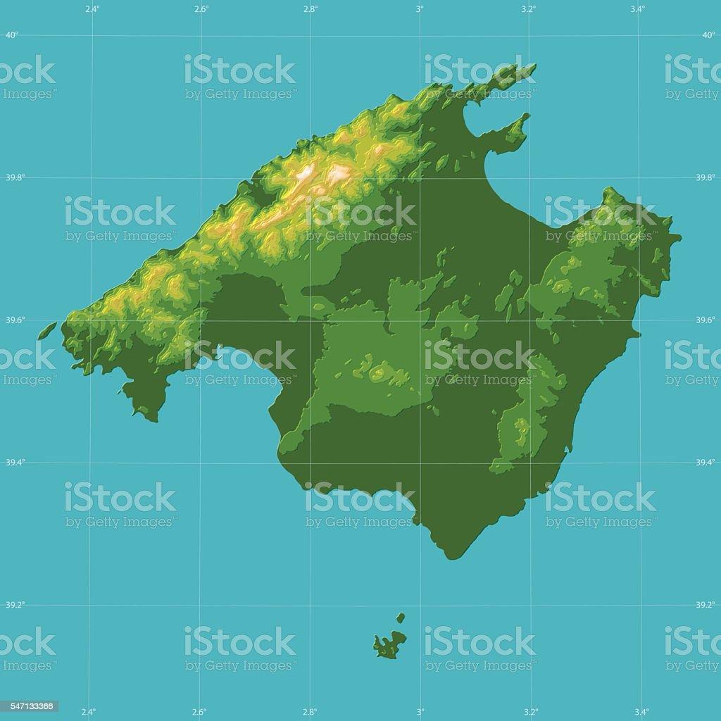 Mallorca Topographic Relief Vector Map Stock Illustration ... on malta map, catalonia independence map, mediterranean sea map, barcelona map, canary islands map, palma map, world map, menorca map, lanzarote map, hong kong map, pyrenees mountains map, copenhagen map, naples map, majorca map, croatia map, ibiza map, malaga map, poland map, marseille map,