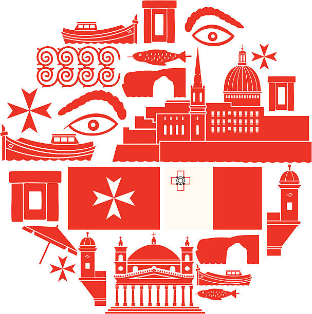 Malta Icon Set A set of Malta related icons. See below for more travel images and other city and country icon sets. If you can't see a set you require, message me, I take requests! maltese cross stock illustrations