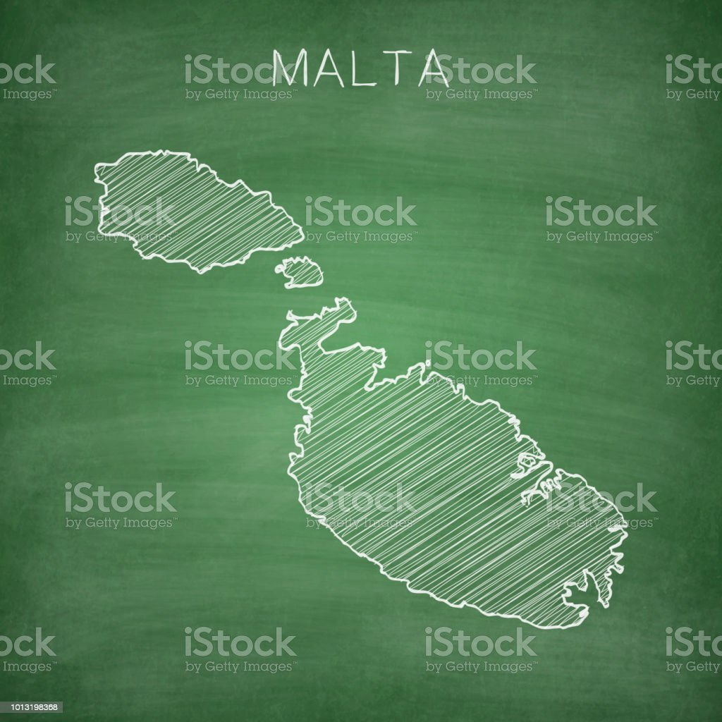 Malta Usa Map on