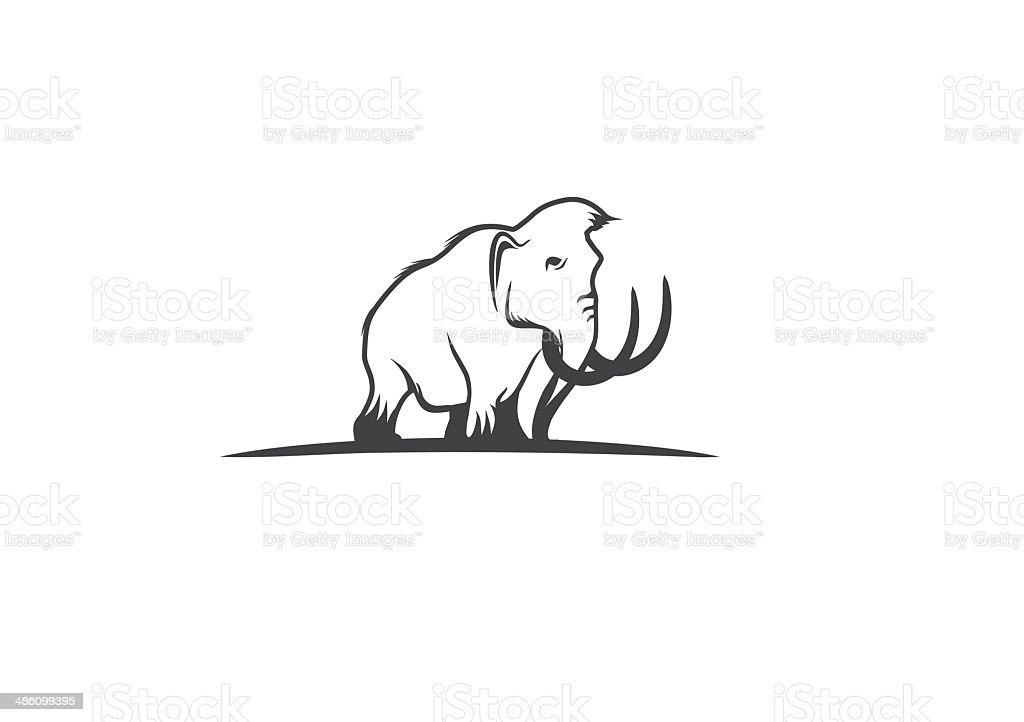 Mammoth royalty-free mammoth stock vector art & more images of animal