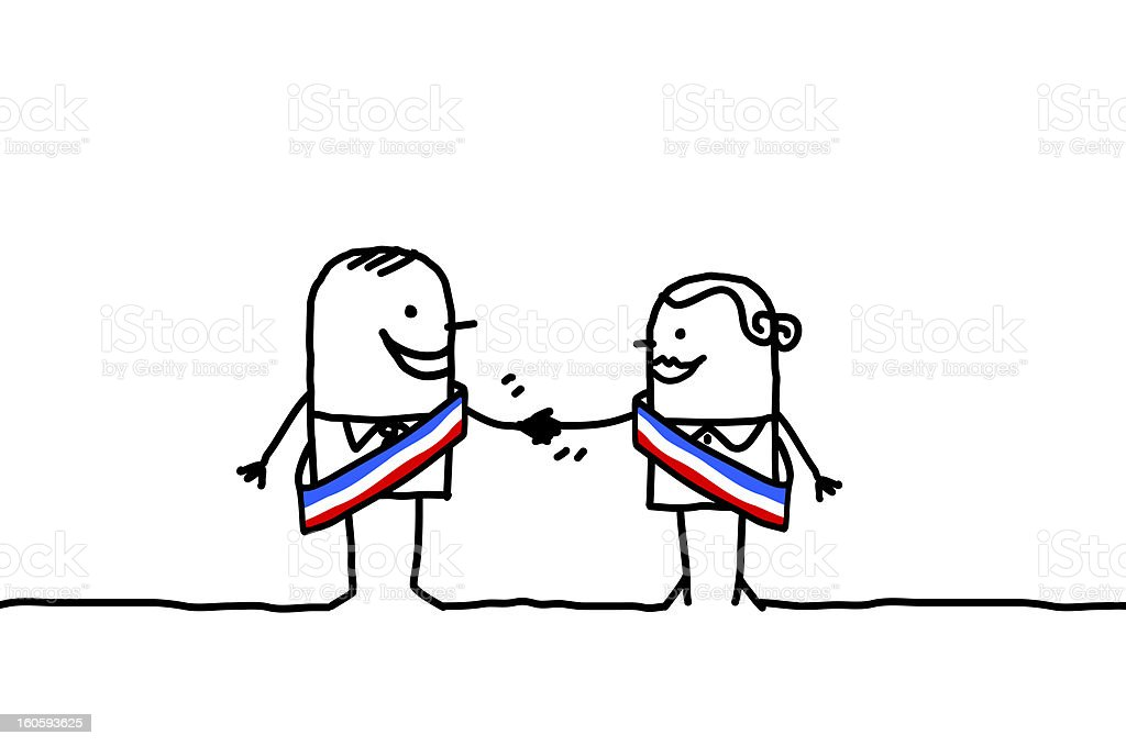 man & woman political parity royalty-free man amp woman political parity stock vector art & more images of adult
