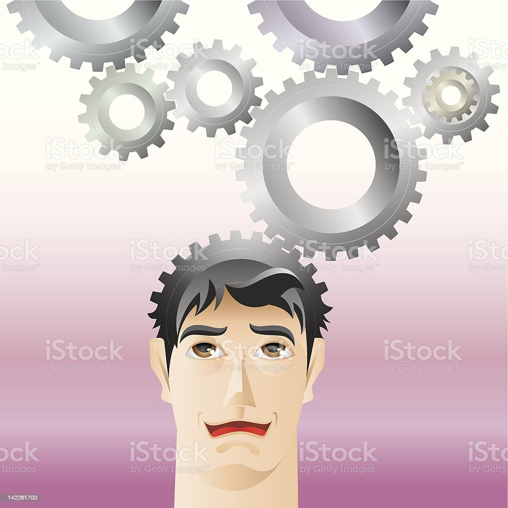man and gear royalty-free man and gear stock vector art & more images of adult