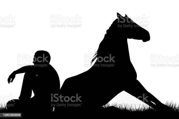 Man and horse sitting back to back vector id1083385856?b=1&k=6&m=1083385856&s=612x612&h=sgljdqul2zp dbwwwwwxzw069yflgupuaxr9gixnlok=