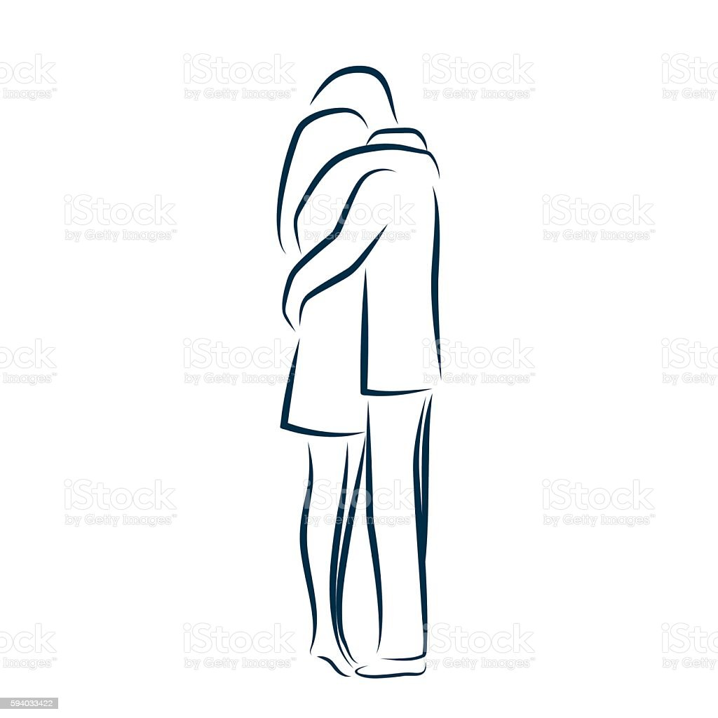 Quotes - Page 2 Man-and-woman-hugging-each-other-vector-id594033422