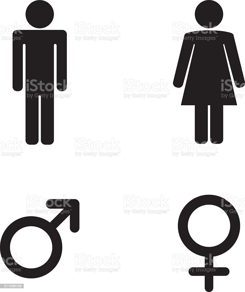 Man and woman toilet sign and male and female symbols stock vector man and woman toilet sign and male and female symbols royalty free man and woman buycottarizona