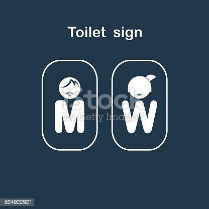 Image of: Men S Bathroom Sign Vector To Men Bathroom Sign Vector Man And Woman Toilet Sign Restroom Symbol Stock Vector Art Men Bathroom With Third Gender Sex