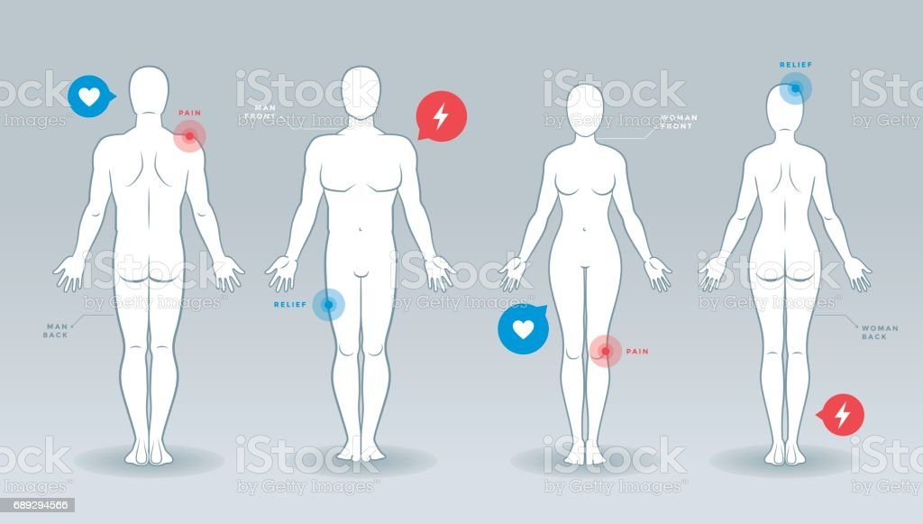 Man and woman vector silhouettes royalty-free man and woman vector silhouettes stock illustration - download image now