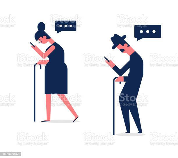 Man and woman walking with gadgets side view flat vector set of to vector id1073738472?b=1&k=6&m=1073738472&s=612x612&h=i6mvbruovmihe s5hsvxdo 3erhwg7bbhkxn2kkdx3g=