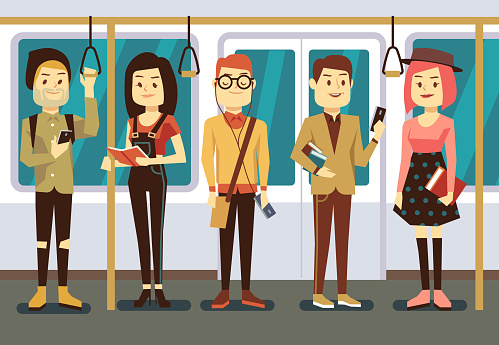 Subway stock illustrations