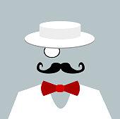 man bow tie