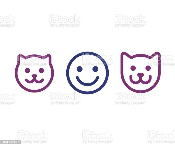 Man cat and dog face icon vector id1038269692?b=1&k=6&m=1038269692&s=612x612&h=dpjftwxhipbkw3zjth 0tb0sk26dusbfavrvkzv2p a=