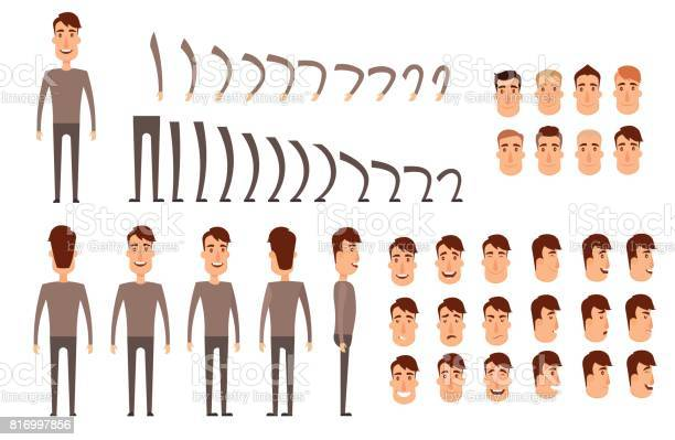 Man character creation set icons with different types of faces vector id816997856?b=1&k=6&m=816997856&s=612x612&h=ntqggfjtsgpamflkb gfvl0b8yiba007l6a1fhk34nk=
