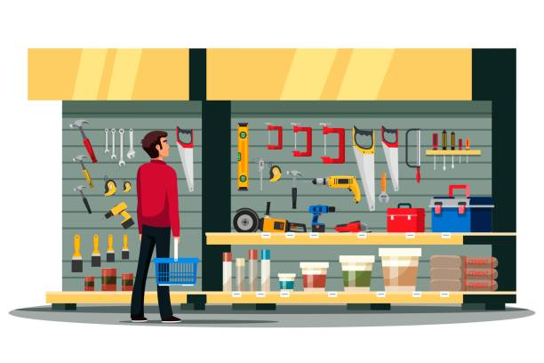 264 Hardware Store Purchase Illustrations & Clip Art