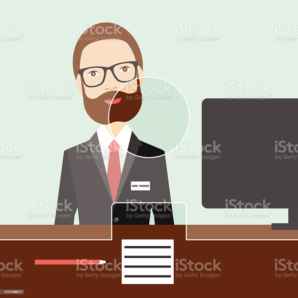 royalty free bank teller clip art vector images illustrations rh istockphoto com Entertainment Clip Art Hostess Clip Art