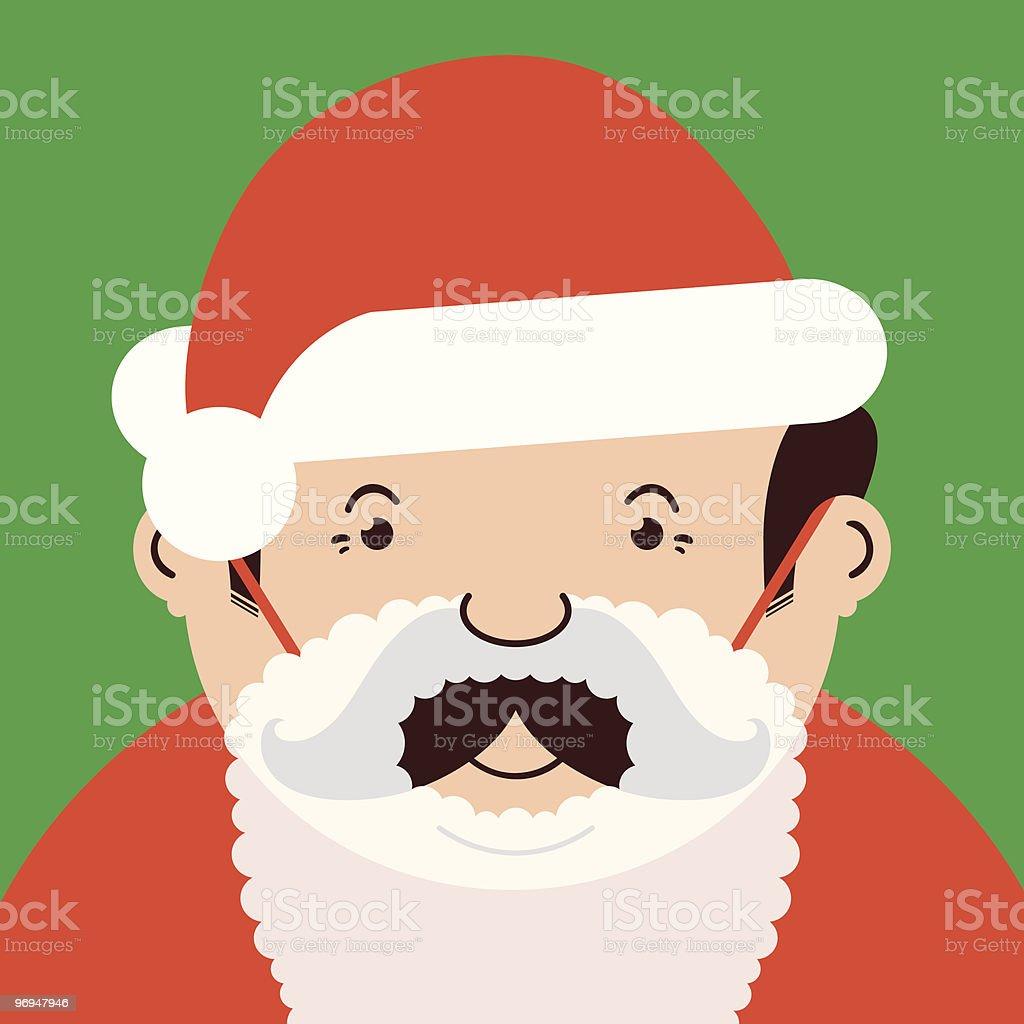 Man disguised as santa royalty-free man disguised as santa stock vector art & more images of adult
