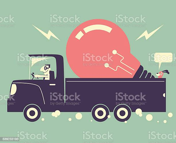 Man driving a truck and delivering a great idea light bulb vector id539233193?b=1&k=6&m=539233193&s=612x612&h=q1z5dggjgw4njs qhffxp9gijr8pdtpjc4irub8nks4=