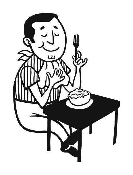 Top 60 Eating Alone Clip Art, Vector Graphics and ...