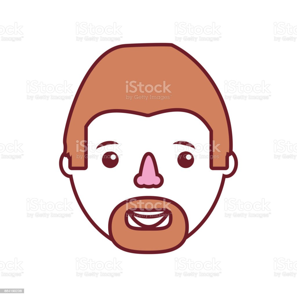 man face  vector illustratio royalty-free man face vector illustratio stock vector art & more images of adult