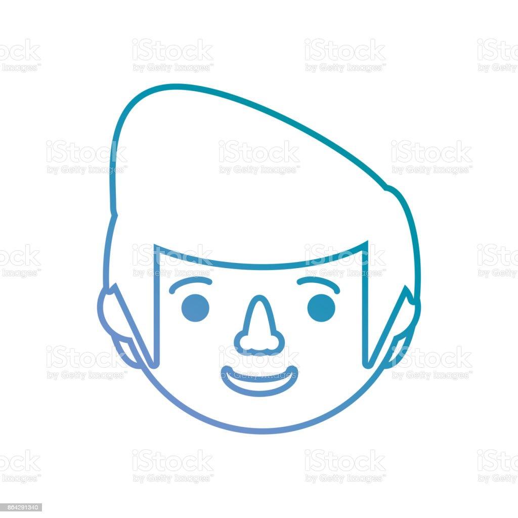 man face vector illustration royalty-free man face vector illustration stock vector art & more images of adult