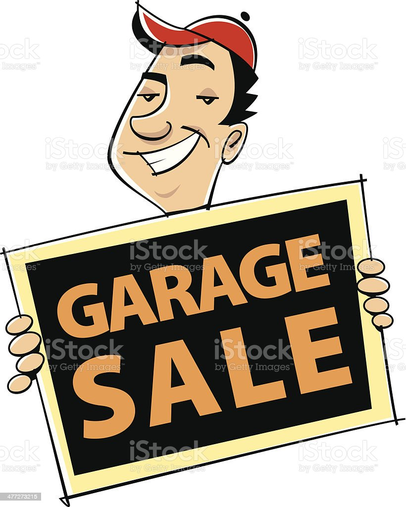 royalty free garage sale sign clip art vector images rh istockphoto com garage sale clip art free garage sale clipart images free
