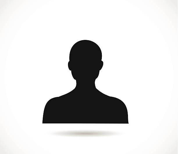 bildbanksillustrationer, clip art samt tecknat material och ikoner med man head silhouette vector - profile photo