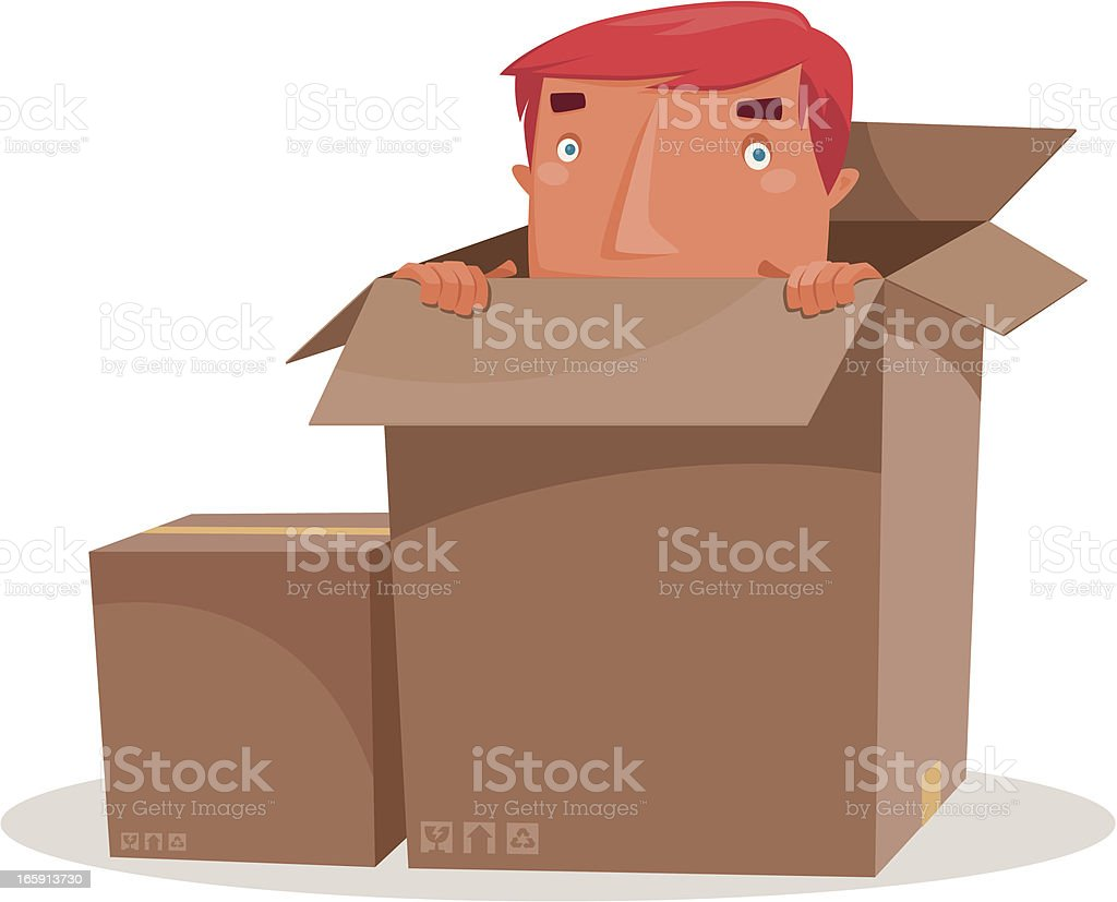 man hiding royalty-free man hiding stock vector art & more images of adult