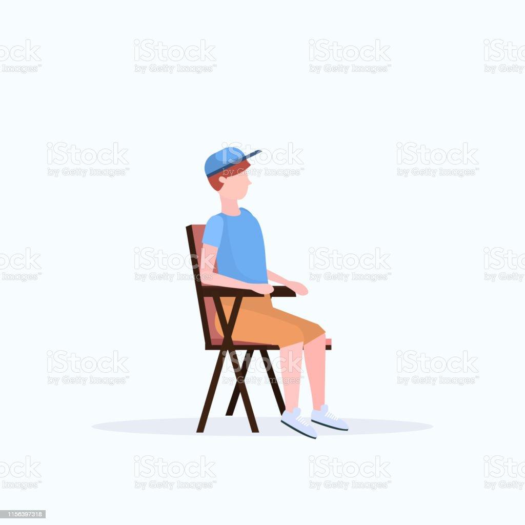 Randonneur Randonnée Dhomme La Chaise Dans Pliante De Sasseyant fb76yYg