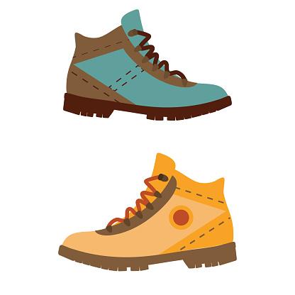 Man Hiking Boots