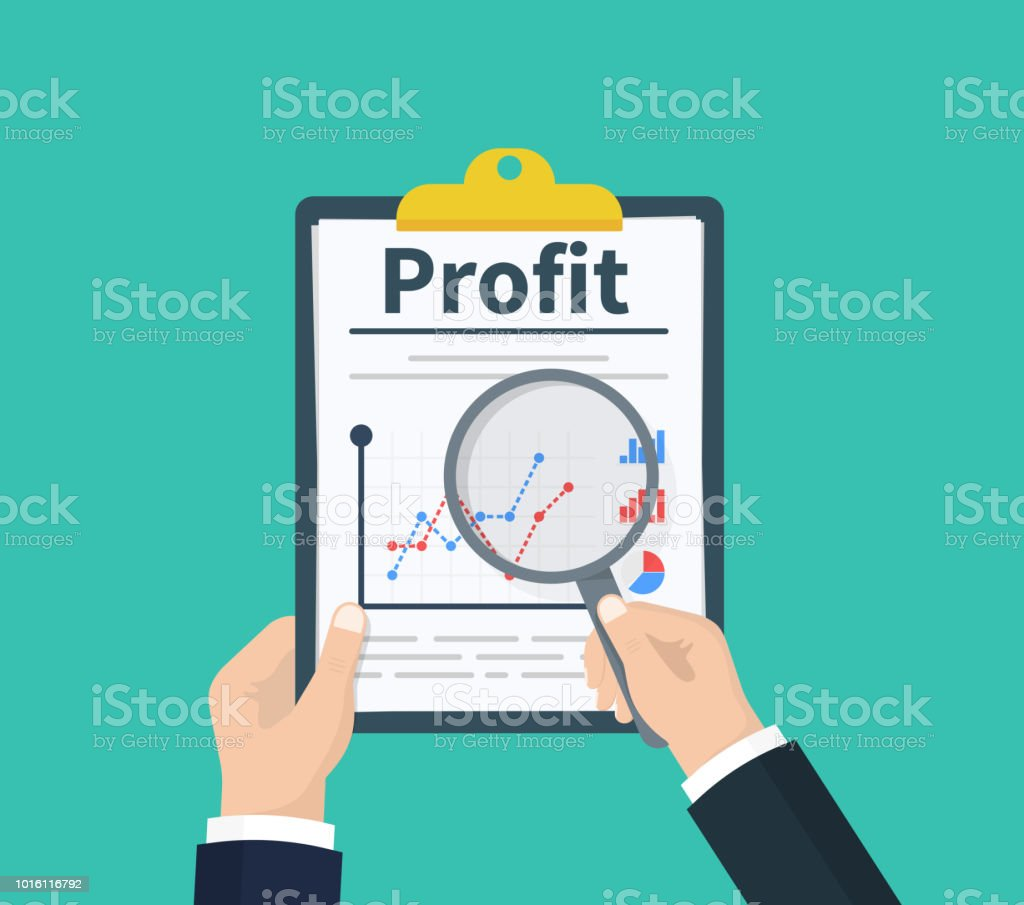 Statistical financial diagrams wiring diagram for light switch man hold in hand clipboard with profit with statistical data with rh istockphoto com statistical map ccuart Images