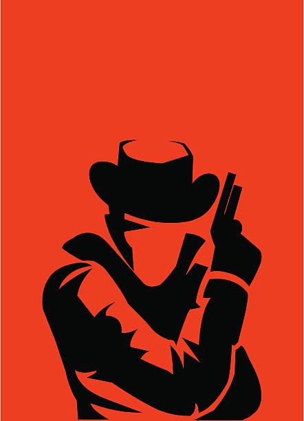 man holding gun - gangster stock illustrations, clip art, cartoons, & icons
