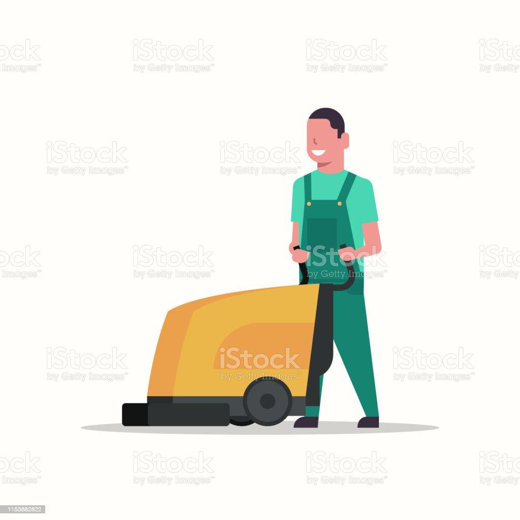 Entretien Machine A Laver homme tenant professionnel machine À laver homme nettoyeur