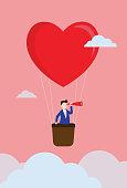 Couple - Relationship, Finding, Destiny, Love, Sky
