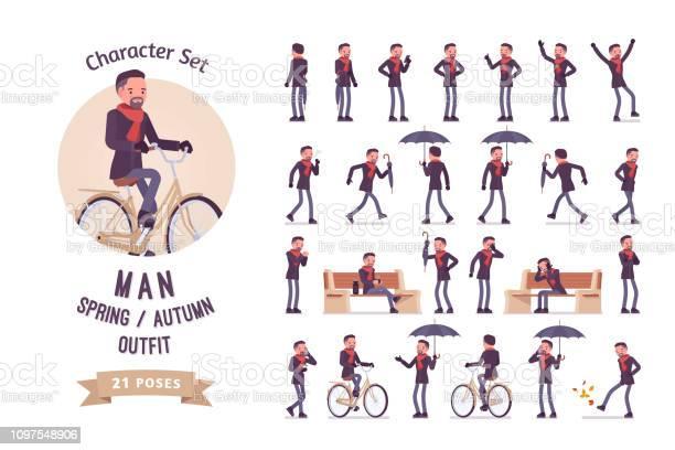 Man in autumn spring clothes vector id1097548906?b=1&k=6&m=1097548906&s=612x612&h=jr7 8jljeryx2tcecfpvrz hq0ldexiwmmsptbzk4sk=