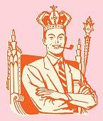 Man in Crown is King Dad