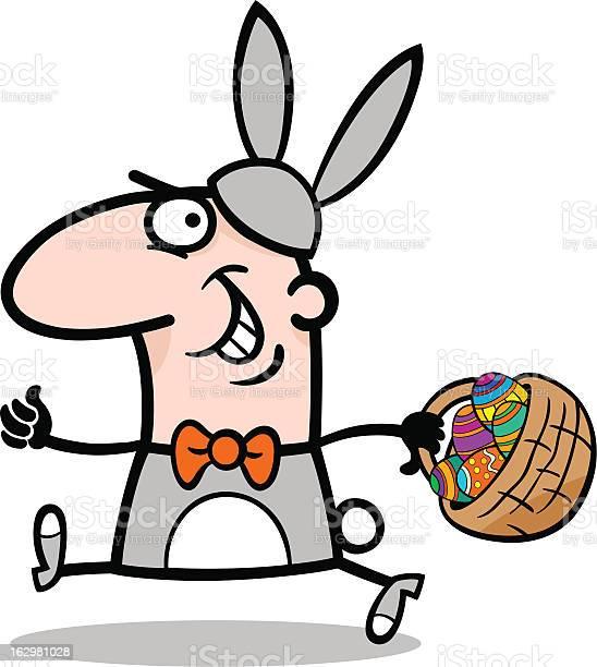 Man in easter bunny costume cartoon vector id162981028?b=1&k=6&m=162981028&s=612x612&h=ntujnr1ezfhxzhyxpf7vhqwej2vvesmjqn94u9aw7u0=