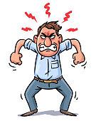 Man In Rage