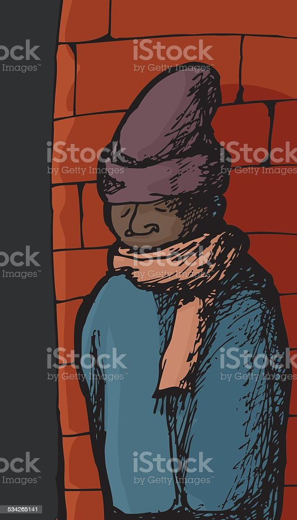 Man In Winter Clothing Stock Illustration Download Image Now Istock