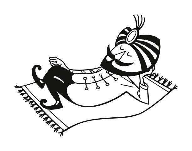 Best Magic Carpet Illustrations, Royalty-Free Vector